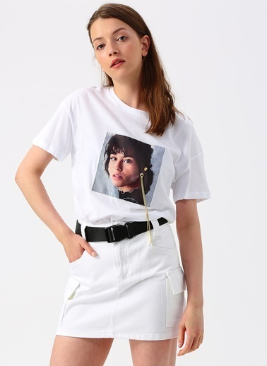 Quzu Quzu Beyaz T-Shirt Beyaz